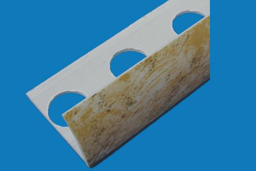 Plastic profile - pvc marble 4