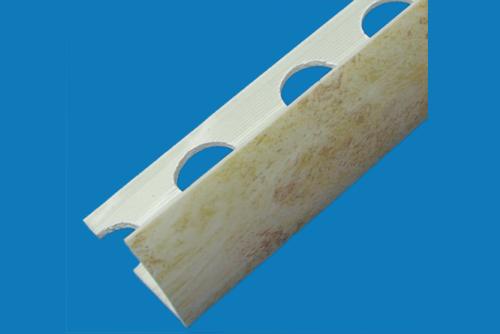 Plastic profile - pvc tile profile marble